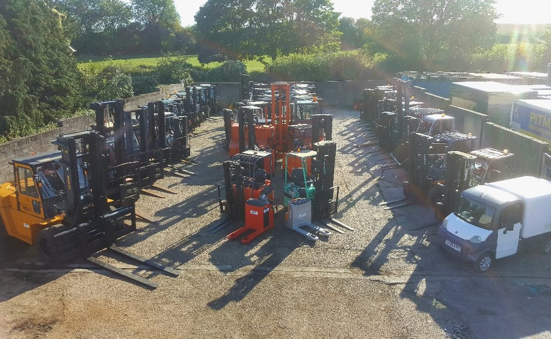 choosing the right forklift truck selection